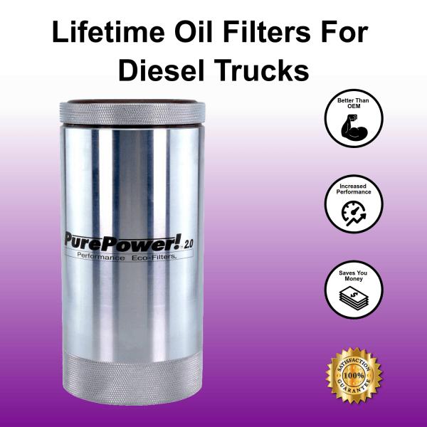 Lifetime Oil Filter For Diesel Trucks