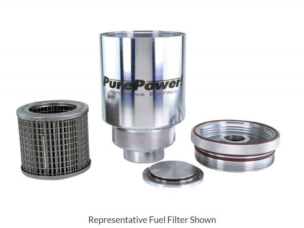 Representative Fuel Filter - All Components