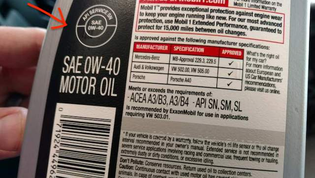 API oil