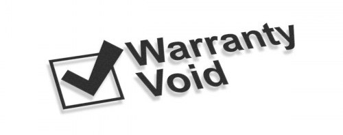 Void warranty