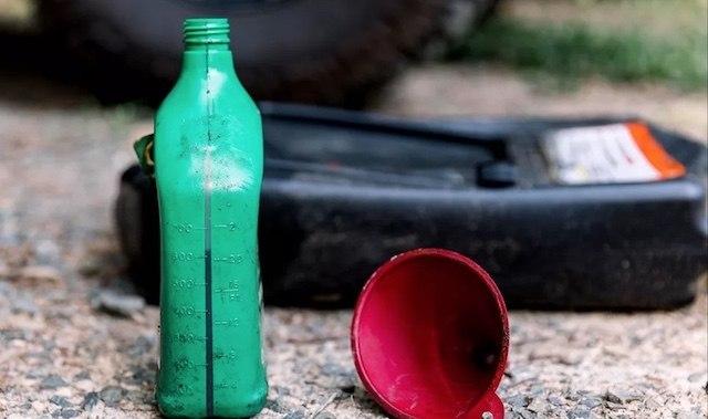 Dispose oil
